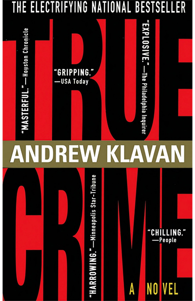 True Crime by Andrew Klavan (image)