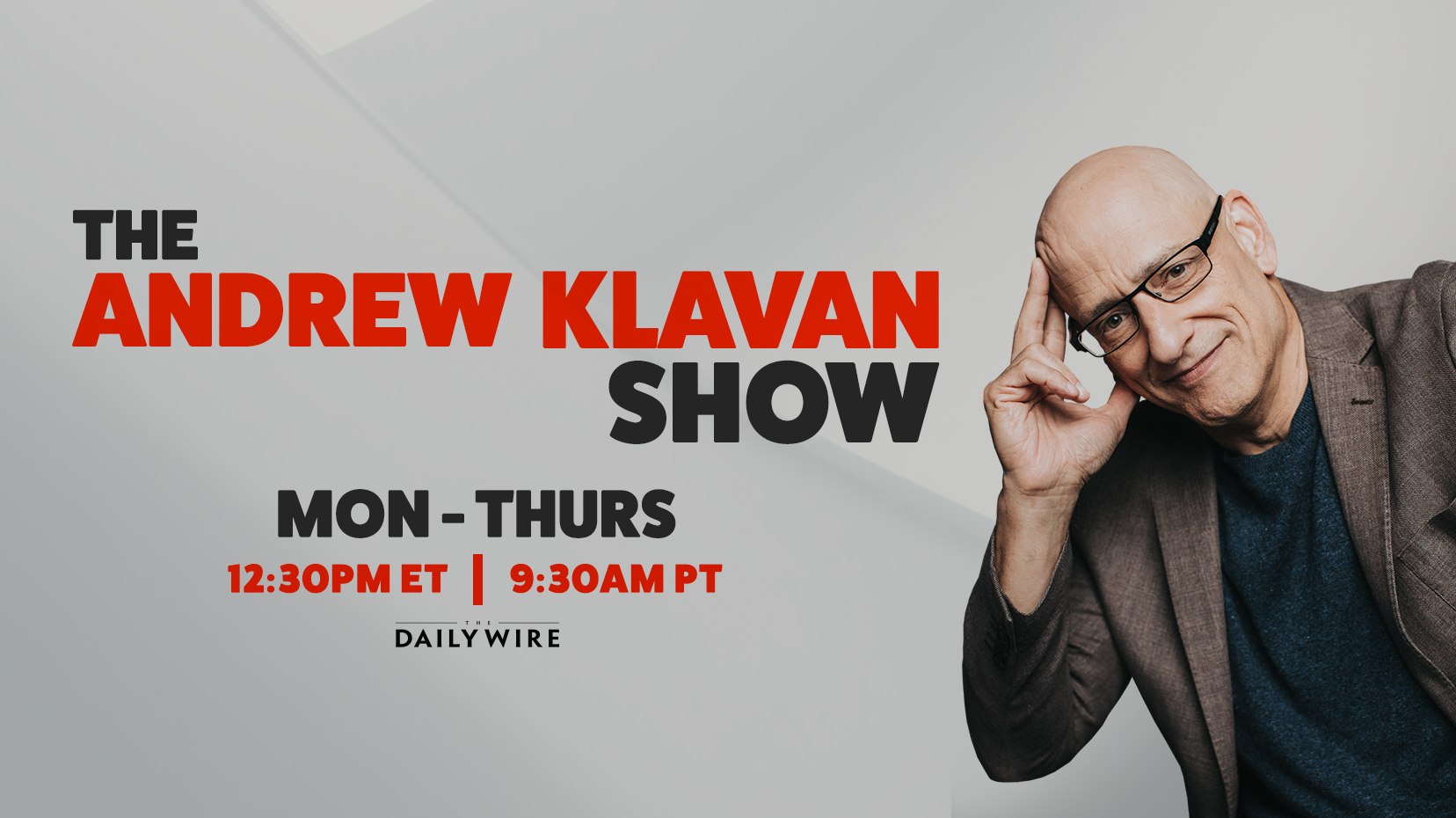 The Andrew Klavan Show on Daily Wire podcast (image)