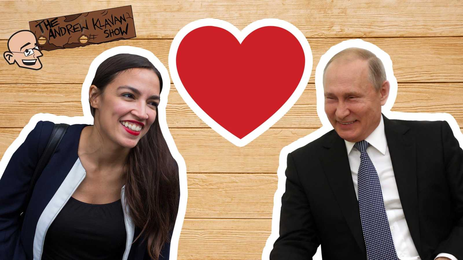 The Andrew Klavan Show on Daily Wire podcast: Putin's True Friends are on the Left (image)